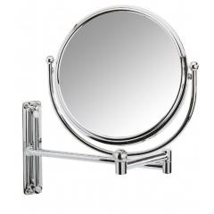 Wenko Kosmetikspiegel Deluxe Groß, Wandspiegel, 5-fach Vergrößerung