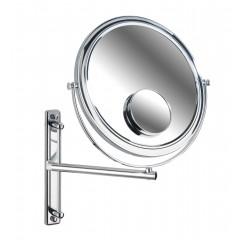 Wenko Kosmetikspiegel Bivona, Wandspiegel, 3- & 7-fach Vergrößerung