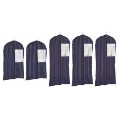Kleidersack Comfort, 5er Set in 2 Größen