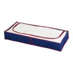 Unterbettkommode Blau-Rot, 4er Set