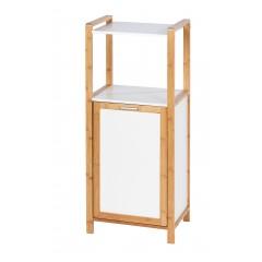 Wenko Regal Finja mit Wäschebox, Bambus