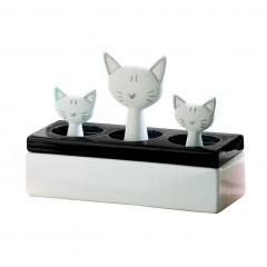 Luftbefeuchter Katzenfamilie