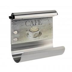 Magnetischer Rollenhalter Café, mit Folienspender