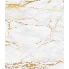 Wenko Glasrückwand Marmor Gold, 60 x 70 cm