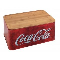Wenko Brotkasten Coca-Cola Classic, aus Bambus