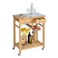 Küchenwagen Fresco, Bambus