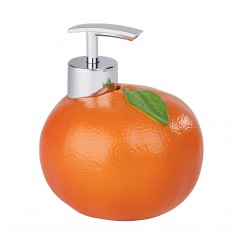 Seifenspender Orange, Spülmittelspender, 300 ml