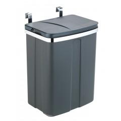 Wenko Tür-Abfalleimer, 12 Liter