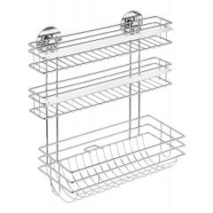 Wenko Turbo-Loc® Küchenrollenhalter Trio, Befestigen ohne bohren