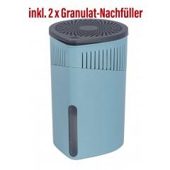 Wenko Raumentfeuchter Drop 1000 g Türkis mit Gratis-Nachfüller