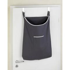 Wenko Über-Tür Wäschesammler Canguro Grau, 65 l