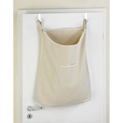 Wenko Über-Tür Wäschesammler Canguro Beige, 65 l