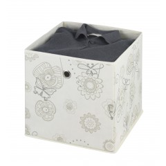 Aufbewahrungsbox Butterfly, 3er Set, 32 x 32 x 32 cm