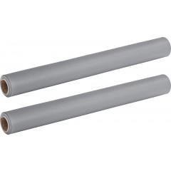 Wenko Anti-RutschMatte Grau Extra Stark, 2er Set, je 150 x 50 cm, zuschneidbar