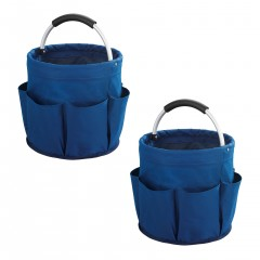 Wenko Universal Reinigungs-Caddy Blau, 2er Set, Putzcenter