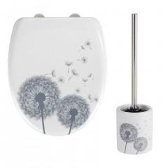 Set WC-Sitz mit Keramik WC-Garnitur Astera, 2-teilig