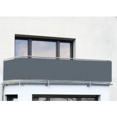 Wenko Balkon-Sichtschutz ANTHRAZIT UNI