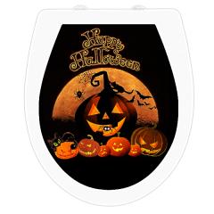 WC-Sitz Aufkleber Happy Halloween