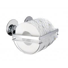 Wenko TurboFIX Edelstahl Toilettenpapierhalter, rostfrei, Befestigen ohne bohren