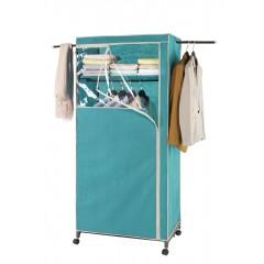 Kleiderschrank 2in1 Breeze, mit Garderobenarmen und Ablage