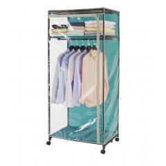 Kleiderschrank Breeze Transparent, mit Ablage