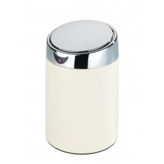 Tisch- und Kosmetikeimer mit Sensor Weiß, 2 l