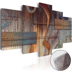 Artgeist Acrylglasbild -  Oriental Composition [Glass]