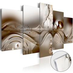 Artgeist Acrylglasbild - Artistic Disharmony [Glass]