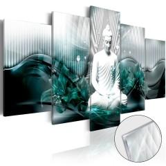 Artgeist Acrylglasbild - Azure Meditation [Glass]