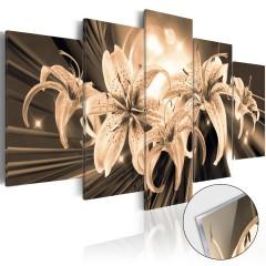 Artgeist Acrylglasbild - Bouquet of Memories [Glass]