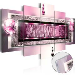 Artgeist Acrylglasbild - Cyclamen Dream [Glass]