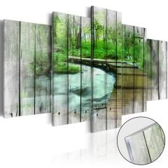 Artgeist Acrylglasbild - Forest of Secrets [Glass]