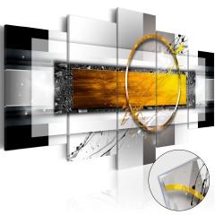 Artgeist Acrylglasbild - Golden Shot [Glass]