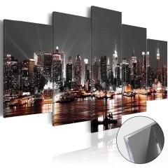 Artgeist Acrylglasbild - Gray City [Glass]