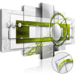 Artgeist Acrylglasbild - Green Energy [Glass]