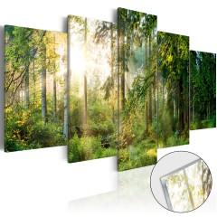 Artgeist Acrylglasbild - Green Sanctuary [Glass]