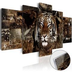 Artgeist Acrylglasbild - Guard of the Jungle [Glass]