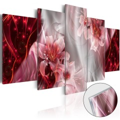 Artgeist Acrylglasbild - Incarnadine Comet [Glass]