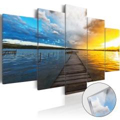 Artgeist Acrylglasbild - Lake of Dreams [Glass]