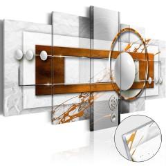 Artgeist Acrylglasbild - Nut-like Energy [Glass]