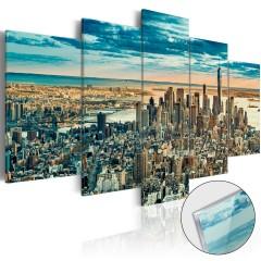 Artgeist Acrylglasbild - NY: Dream City [Glass]