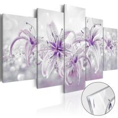 Artgeist Acrylglasbild - Purple Graces [Glass]