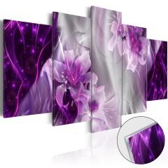 Artgeist Acrylglasbild - Purple Utopia [Glass]