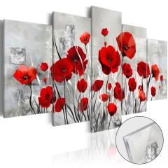 Artgeist Acrylglasbild - Scarlet Cloud [Glass]