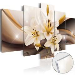 Artgeist Acrylglasbild - Shiny Lily [Glass]