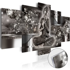 Artgeist Acrylglasbild - Silver Serenity [Glass]
