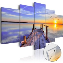 Artgeist Acrylglasbild - Summer Harbor [Glass]