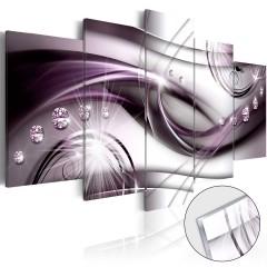 Artgeist Acrylglasbild - Violet Glow [Glass]
