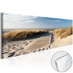 Artgeist Acrylglasbild - Wild Beach [Glass]