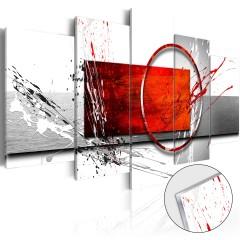 Artgeist Acrylglasbild - Wintry Expression [Glass]